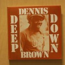 Dennis Brown - Deep Down - Observer LP