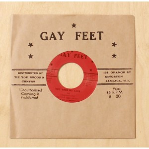 Stranger Cole & Patsy Millicent Todd - You Took My Love - Gay Feet