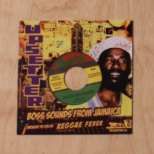 Junior Murvin - Bad Weed / Jah Lion ‎–  Police And Soldier